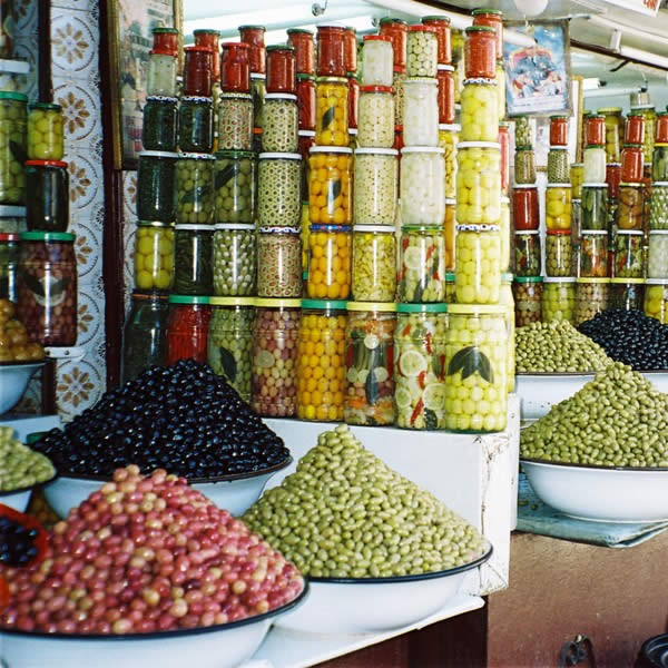 Pickled Vegetables in Marrakesh