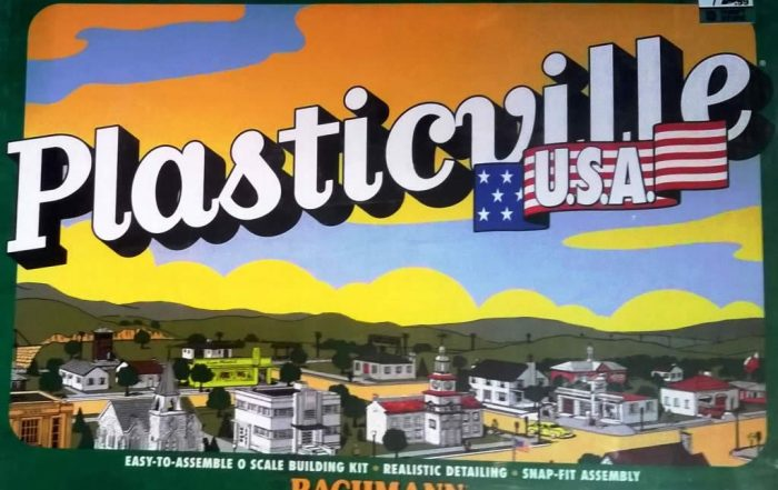 Plasticville toy kit by Bachmann
