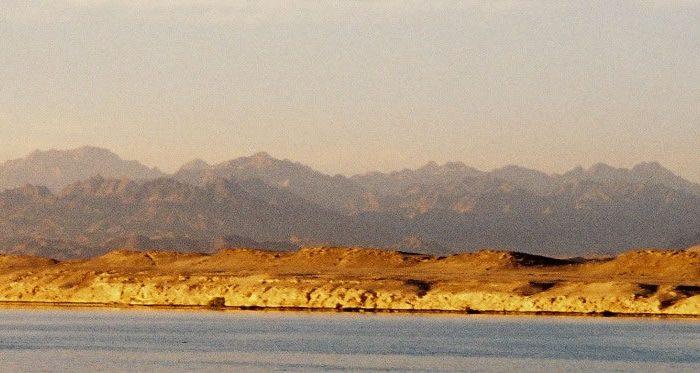Sinai Peninsula and Red Sea