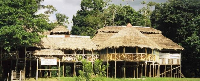 Zacambu Lodge on the Javari River in the Amazon Rainforest