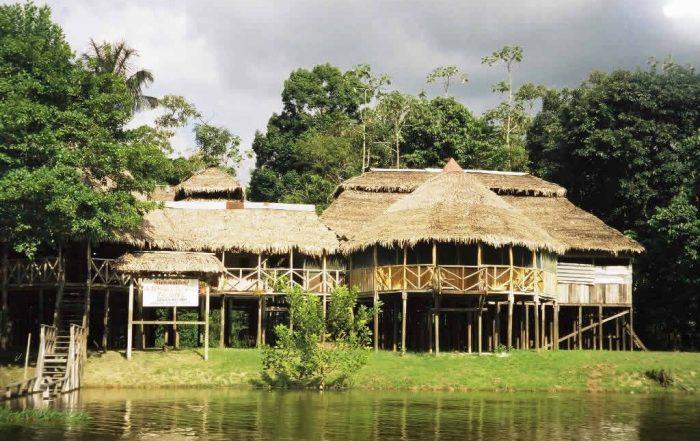 Zacambu Lodge on the Javari River in the Amazon Rainforest