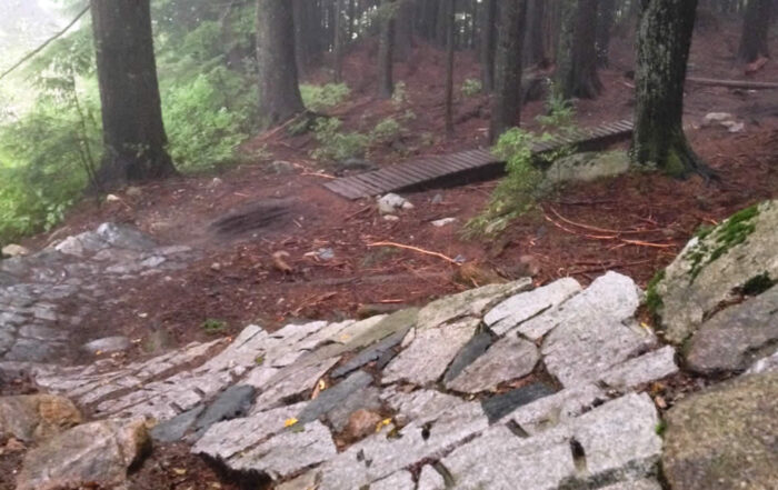Mountain biking on Vancouver's North Shore is almost unparalleled